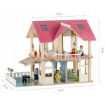 Домик для кукол деревянный   ECO TOYS Modern (4103) 71 x 40 x 54.5 см