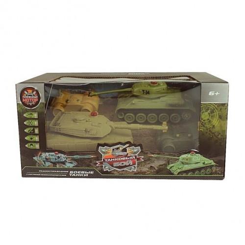 Пламенный мотор Танковый бой Т34 - Abrams M1A2 870236
