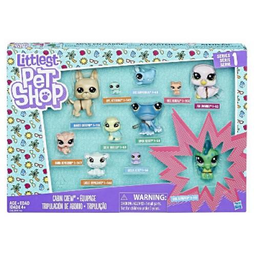 Hasbro Littlest Pet Shop Набор из 11 коллекционных фигурок B9343