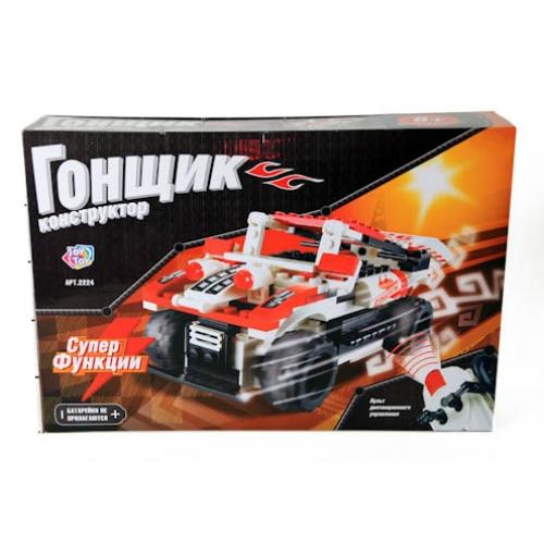 Joy Toy Конструктор Гонщик Red 2224 радмоуправляемая машина