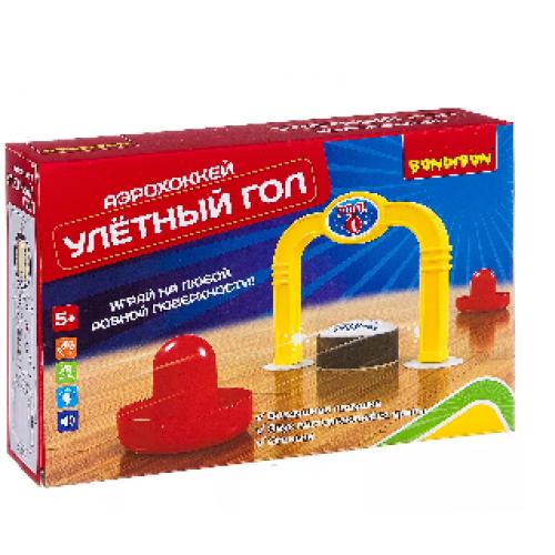 Настольная игра Bondibon Аэрохоккей Улетный гол BB2656