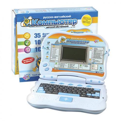 Joy Toy Обучающий компьютер Light Blue 7000