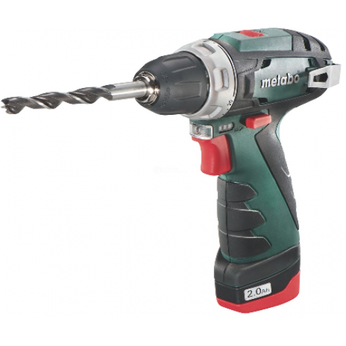 Шуруповерт Metabo PowerMaxx BS 10.8В 2х2.0 LC40 600080500