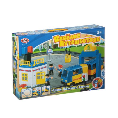 Joy Toy Конструктор Весёлое путешествие 59дет. 2129