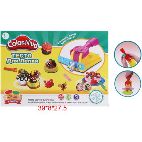 """Игровой набор """"Тесто для лепки"""" 6615 COLOR-MUD"""