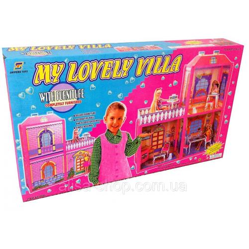 ДОМИК ДЛЯ БАРБИ My Lovely Villa 6984 79х72х24 см!