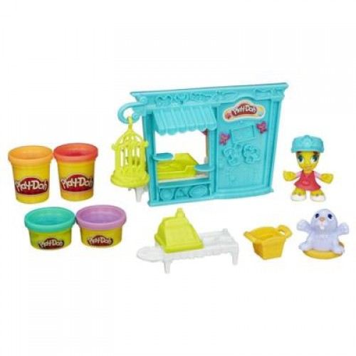 Hasbro Play-Doh Магазинчик домашних питомцев B3418