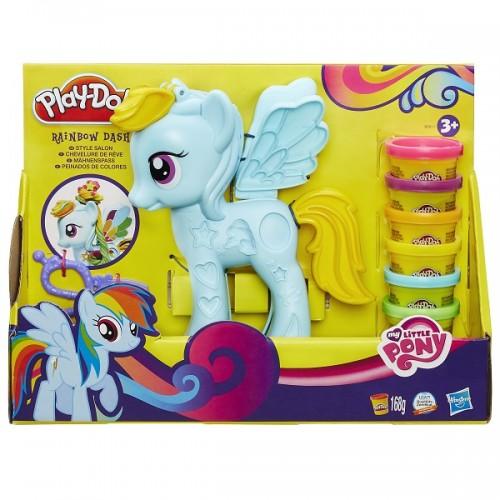 Hasbro Play-Doh Стильный салон Рэйнбоу Дэш B0011