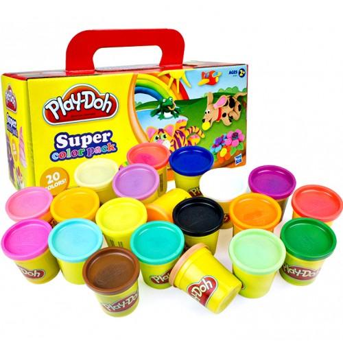 Hasbro Play-Doh 20 баночек A7924