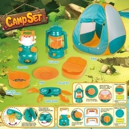 Палатка с аксессуарами Shantou Gepai Турист 100909918