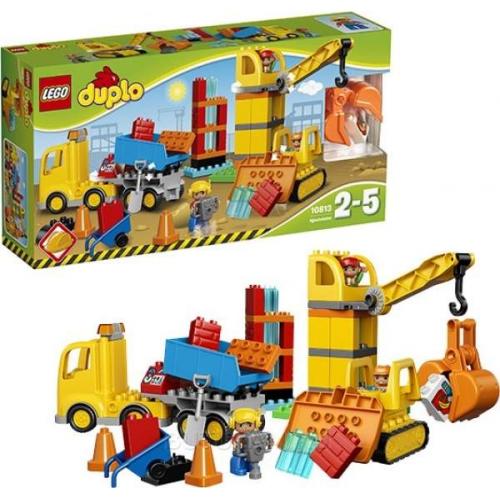 Конструктор Lego Duplo Большая стройплощадка 10813