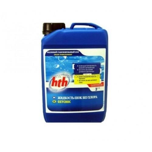 Жидкость-шок без хлора HTH 3L L801221HK