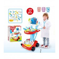 DOCTOR PLAY SET 660-46 17PCS! 58x32x41СМ!