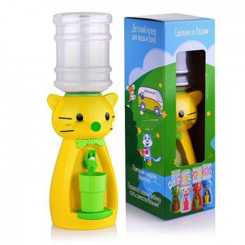 Кулер АкваНяня Китти Yellow-Light Green SK40636