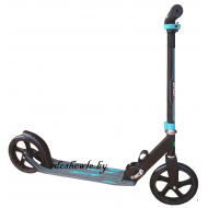 САМОКАТ URBAN-SCOOTER SPORT BLACK-BLUE 200MM ХИТ!