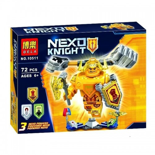 BELA NEXO KNIGHT 10511 72PCS!